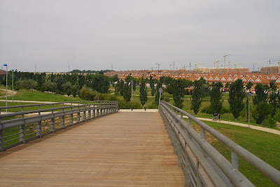Parque de Valdegrullas en Leganés