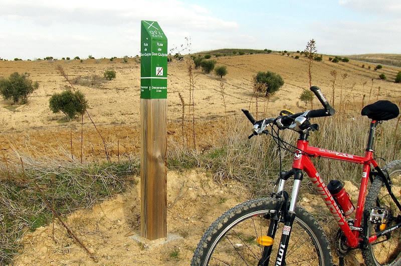 Ruta Don Quijote en Carranque