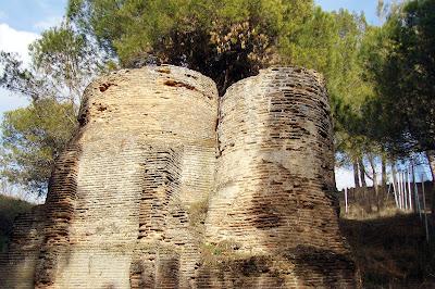 Molino en las inmediaciones del Arqueológico Carranque