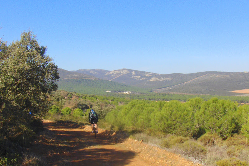 Por el Cerro de Mingoliva
