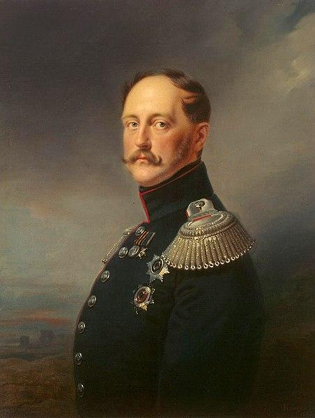 Portrait of Tsar Nicholas I.