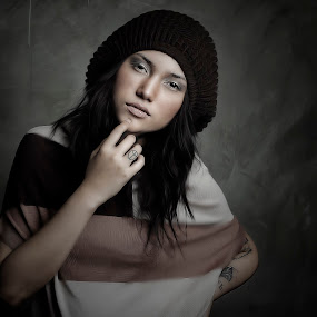 by Anthony Skip - People Portraits of Women