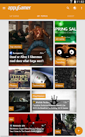 Screenshot of Appy Gamer – Games news