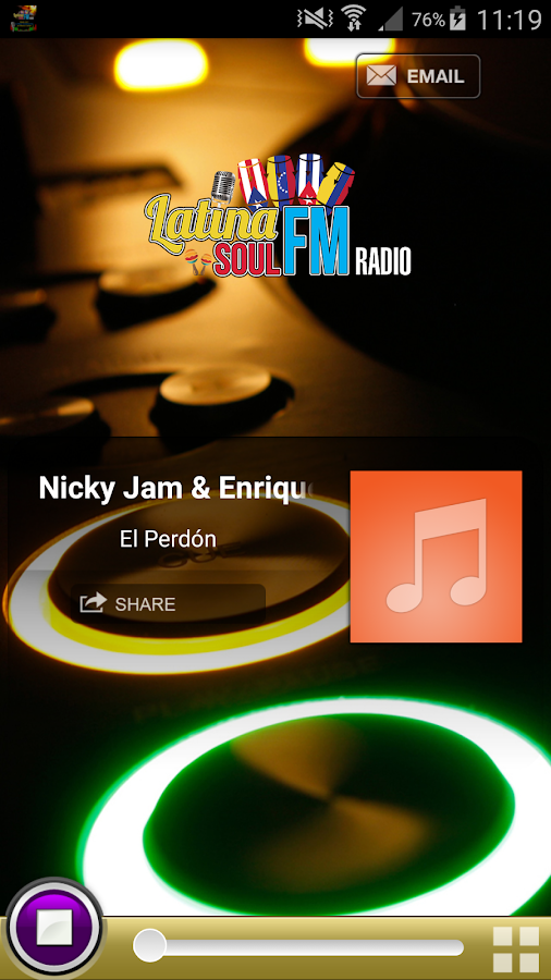 Latina Soul FM Radio- screenshot