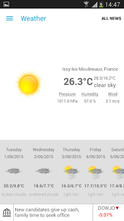 Breaking News & Weather 2.3.2 screenshot 1827620