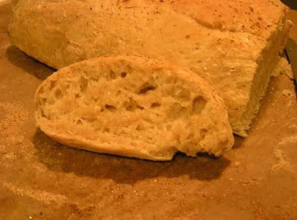 Homemade Ciabatta Bread - Dee Dee's Recipe