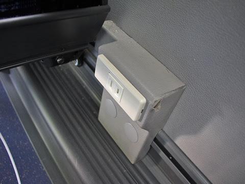 中鉄バス「ハーバープリンス」 1621 座席コンセント