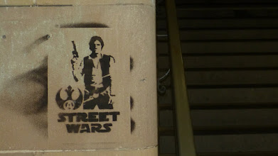 Photo: Stencil; Street Warts; Unknown Artist