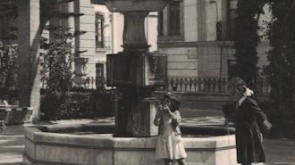 Plaza de San Pedro, hacia 1953. Colección: Narciso Espinar