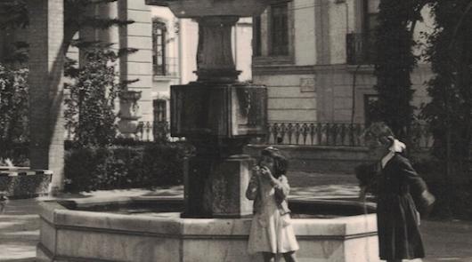 'Desde mi ventana': La fuente de Isabel II que acabó en un contenedor
