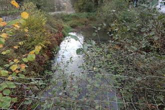 Photo: Raccordement  (fermé) du canal à l'Ourthe à Fèchereux