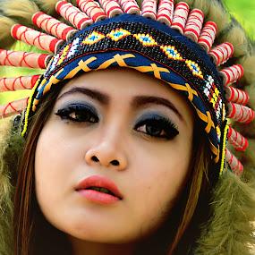 My Indian by Bandar Pak Ustad - People Portraits of Women