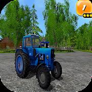 Bleu Tractor - Farming Simulator Toy 3D