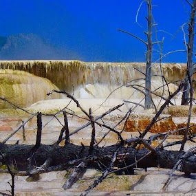 Hot springs by Bryan Gruber - Landscapes Waterscapes ( yellowstone, hot springs )