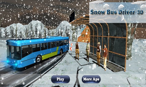 Snow Bus Offroad Hill