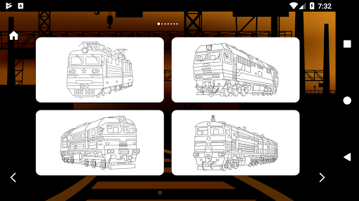 Trains Game Coloring Book 1.7 screenshots 7