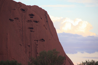 Photo: Year 2 Day 218 - Rock and Cloud