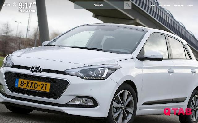 Hyundai Elite i20 New Tab Wallpapers