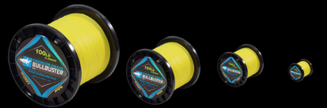 1500 Yard Spools Of 50LB Yellow Braided Fishing Line