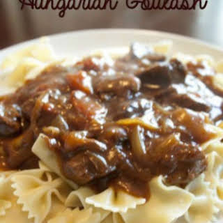 Crock Pot Hungarian Goulash.