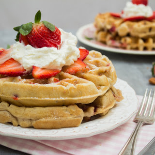 Wonderfully Light & Fluffy Waffles
