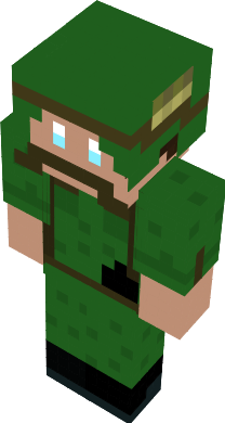 Tried my best to recreate a grunt from the Vietnam war into a MC skin