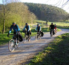 Photo: The Hardriders enjoy a few days in the Yorkshire Moors.  Pictures by Peter Woods