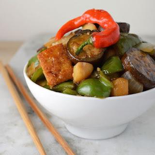 Asian Eggplant Stir Fry Recipe