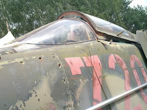 Photo: cockpit with skull