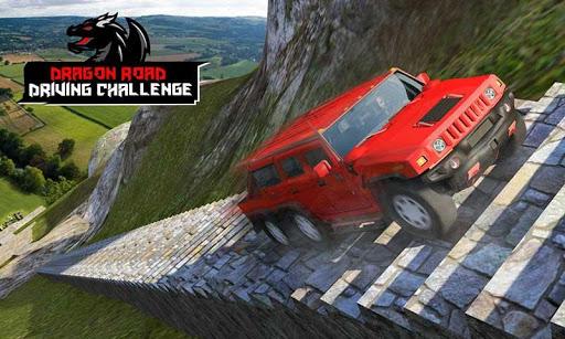 Cruiser Car Stunts: Dragon Road Driving Simulator apktram screenshots 2