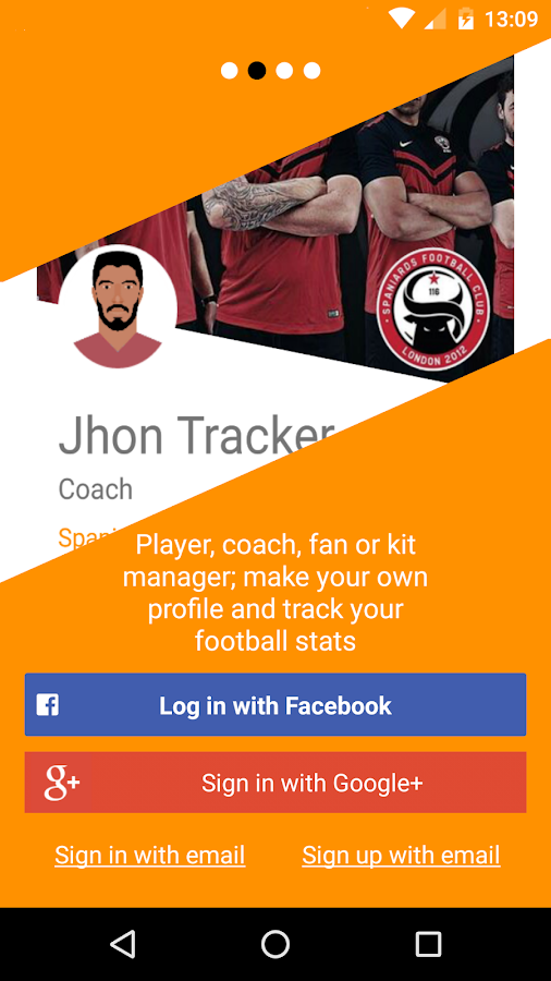 FootballTracker + Tournaments- screenshot