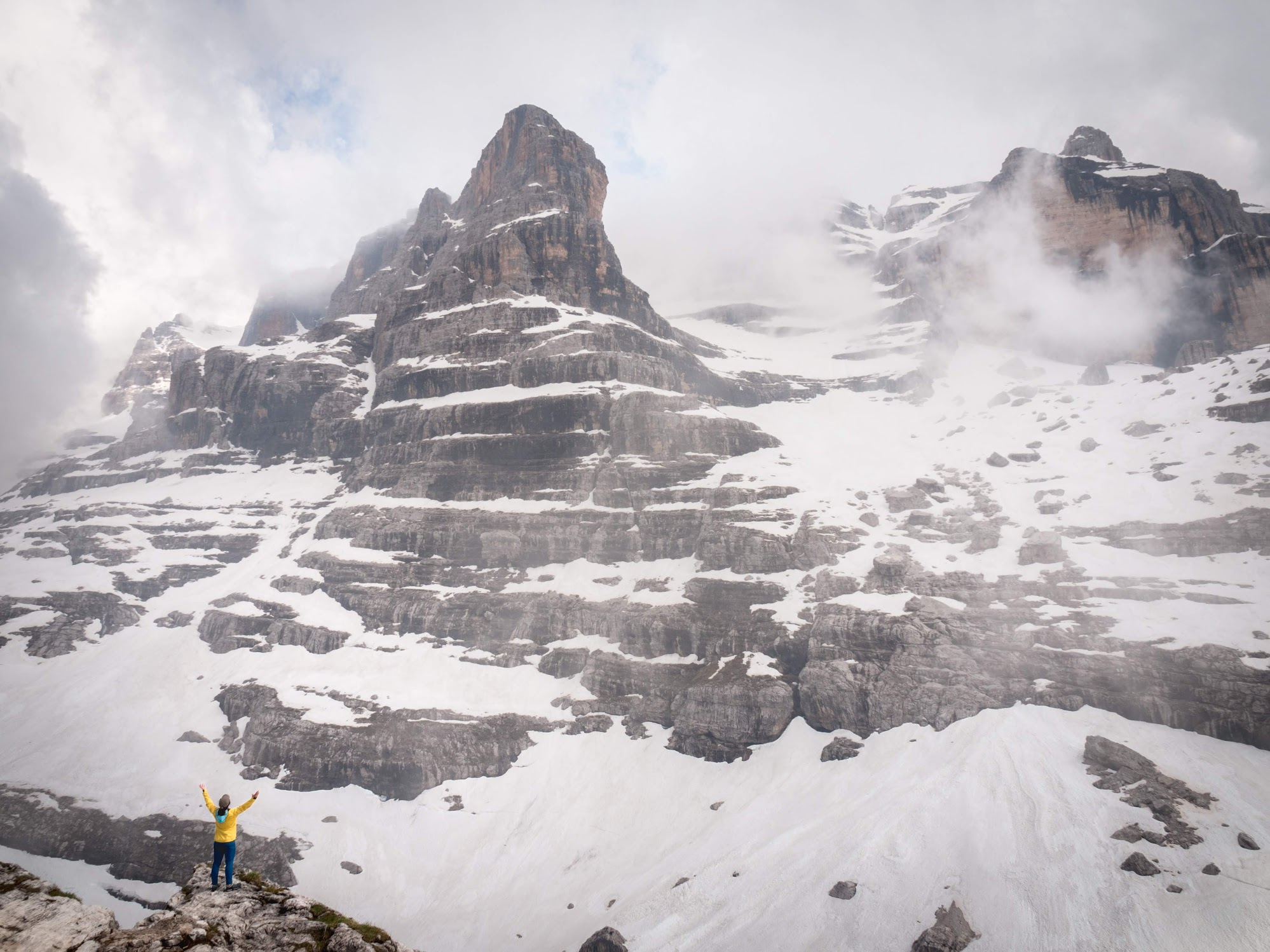 Dolomiti Brenta can be easily visited from Trento or Madonna di Campiglio