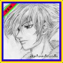 desenho manga DIY icon