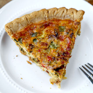 Vegetable Ricotta Pie