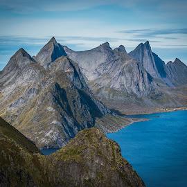 Lofoten, Reine by Terje Jorgensen - Landscapes Mountains & Hills