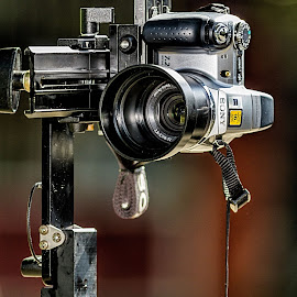 by Ohmz Pineda - Products & Objects Technology Objects ( , camera, lens, object )