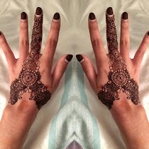 Finger Mehndi designs - screenshot thumbnail 04