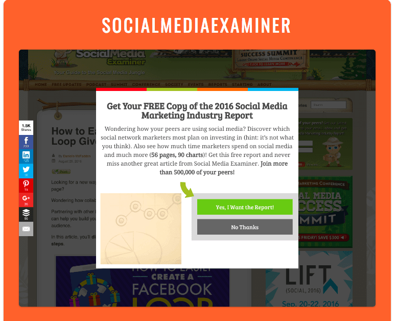 6 - Social Proof Pop-Up Example