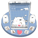 Ice Bear Launcher Theme icon