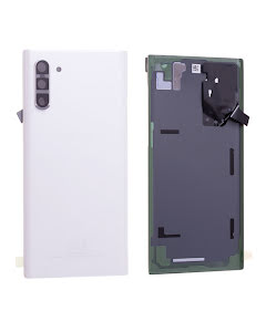 Galaxy Note 10 Back Cover Aura White