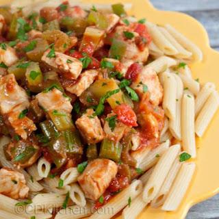 Spicy Chicken Pasta