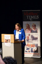 Photo: Helen Lloyd speaks at the Charles Parker Day 2014