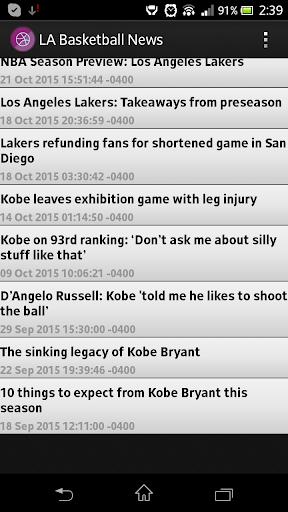 LA Basketball News