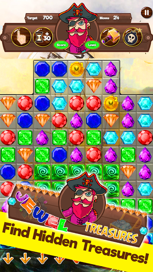 Jewels Treasures- screenshot