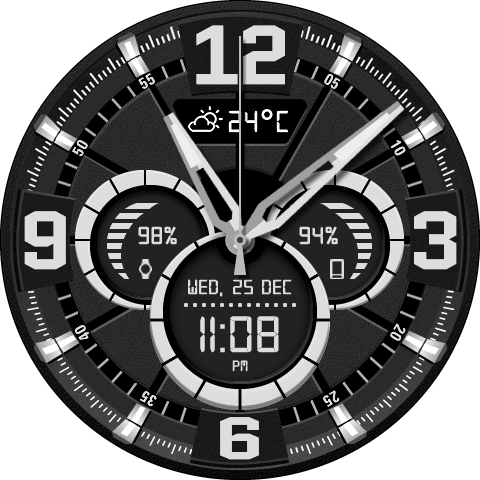 Iron Watch Face- screenshot
