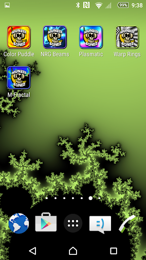 M Fractal Zoom Live Wallpaper