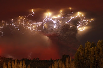 Photo: Lightning flashes around the ash plume at above the Puyehue-Cordon Caulle volcano chain near Entrelagos June 5. The volcano in the Puyehue-Cordon Caulle chain, dormant for decades, erupted in south-central Chile on Saturday, belching ash over 6 miles (10 km) into the sky, as winds fanned it toward neighboring Argentina, and prompted the government to evacuate several thousand residents. (Carlos Gutierrez/Reuters)  #cloud #storm #supercell #nature #thunderstorm #hailstone #lightning #photo #photography  #photo #photography #News #WeatherNews #Bolt #ChesterCounty #ExtremeWeather #farm #Funnel #JeffBerkes #lightpollution #Lightning #Pennsylvania #rain #severe #Shaft #Storms #Thunderstorm  #funnel #lightningphotography   #stormphotography #weatherphotos   #stormphotography