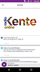 KENTE RADIO - náhled