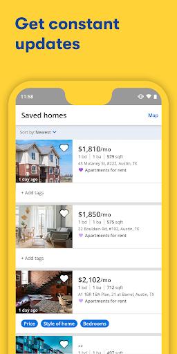 Apartments & Rentals - Zillow 5.3.144.1597 Screenshots 2