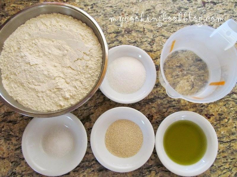 Универсално тесто от Арабската кухня и бърз плосък хляб (Pita Bread)